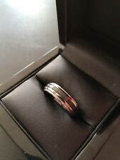 ***REDUCED*** Mens Zirconium Stepped Ring