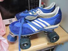 Men SZ 8 5/Women Sz 9.5.Blue & White Heel to toe 10  11//16in. Roller Skates