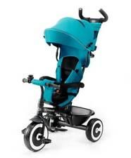 Kinderkraft Dreirad ASTON Kinderdreirad Freilaufrad Kinder Fahrrad Türkis
