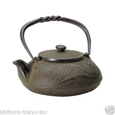 Nanbu Tetsubin - Tonbo (Dragonfly) 0.4 L - Japanese cast iron teapot w steel net