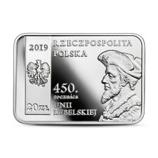 450 Rocznica Uni Lubelskiej-20 złotych-2019r