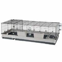 Rabbit Cage Extra Large Guinea Pigs Hay Rack Drinking Bottle Nesting Area 2 Door