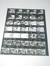 Van Halen 8X10 Vintage Original Contact Sheet Photo Diver Down Tour 1982 #1