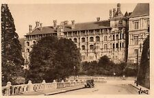 France - Chateau de Blois, Facade Francois 1er - Vintage Postcard