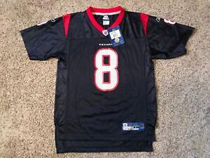 NEW NWT NFL Boys Kids David Carr Houston Texans NFL Jersey Youth Sz Large Boys