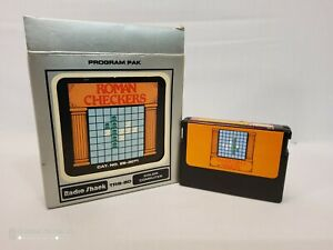 """Radio Shack TRS-80 """"Roman Checkers"""" Game -  Complete  - Appears NOS"""