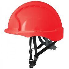 Evo3 C+ Helm, Schutzhelm für Monteure rot JSP  mit 4-Punkt Kinnriemen