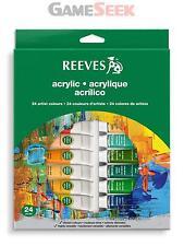 Reeves 24 Set Tubi Acrilico-Giocattoli consegna gratuita Nuovo di Zecca