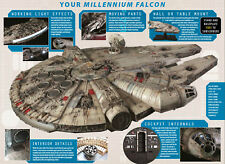 DEAGOSTINI BUILD MILLENIUM FALCON STUDIO 1:1 SCALE FULL KIT COMPLETE STAR WARS