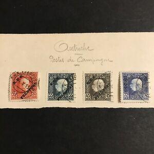 Autriche Hongrie 1915 Lot Poste De Campagne K.U.K Feldpost Obl Cote +++