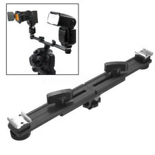"Macro 13"" Twin Speed Light Flash Hot Shoe Mounting Bracket Mount Holder Studio"