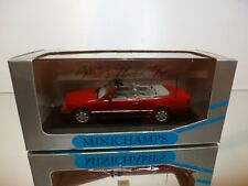 MINICHAMPS 3550 MERCEDES BENZ 300 CE-24 CABRIOLET - RED 1:43 - EXCELLENT IN BOX