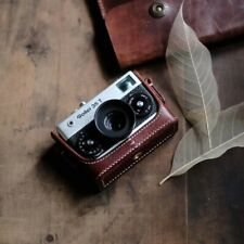 Handmade Real Leather Cover Case With strap For Rollei 35 35S 35T 35Se!