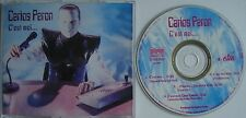 CARLOS PERON   ___   C`est Moi ...   ___   4 Track MCD 1995   ___   STRANGE WAYS