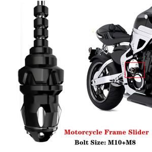 1PC Motorcycle Frame Slider Anti Crash Engine Falling Protector Universal M10+M8