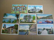 Lot Of 8 Missouri Postcards