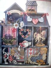 "Needlepoint kit Candamar Designs Something Special ""DOLLHOUSE SHADOWBOX"" B5"