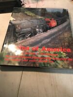 Train Book: Trains of America: All-Color Railroad Photography Late Steam Diesel