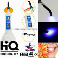 1500mw 5W Dental Wireless Cordless LED.B Curing Light LED Lamp with Charging USA