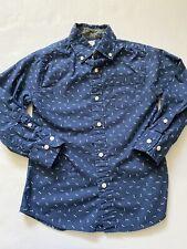 Euc Pre-Owned Toddler Boys Crewcuts Shirt Sz-4-5