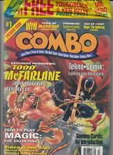 COMBO Lot #1 #2 #3 #5 Comic Book News & Price Guide - w/ OUT of Print Magic Card