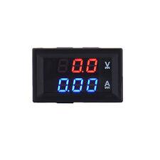 Mini DC 100V 10A Digital Voltmeter Ammeter LED Volt Amp Meter Gauge Panel Tester
