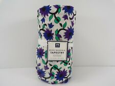 Pottery Barn Teen Bloho Mandala Printed Tapestry Navy Purple Black #7757