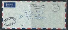 ANGUILLA  (P2903B) 1983 OPS DEPT OF POSTS STAMPLESS TO GERMANY