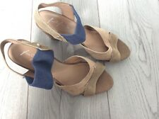 BNWT Ladies Heeled Summer Shoes From M&S Size 6 RSP £45