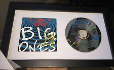 Aerosmith Steven Tyler Signed Framed CD Big Ones with proof