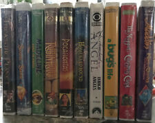 Walt Disney VHS Tapes lot: Treasure Planet/ The Sword in the Stone/ Robin Hood/