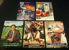 1991 Pro Set SPANISH Short Print INSERT SET 5 Cards! Rare SP FLORES CASILLAS