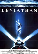 Leviathan ORIGINAL A1 Kinoplakat Peter Weller / Richard Crenna / ART: CASARO