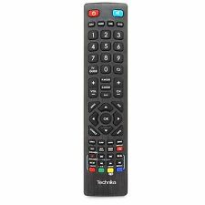 Universal Genuine Technika LCD LED 3D HD PVR DVD TV Remote Control Black
