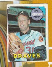 1969 Topps  # 238 Ken Johnson/301Darrell Brandon/#317 Look/319McMullen/lot4