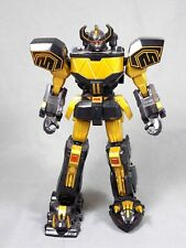 "MIGHTY MORPHIN POWER RANGERS 2016 EXCLUSIVE BLACK & GOLD MEGAZORD 6"" LEGACY"