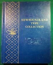 Whitman Bookshelf Album #9514  NEWFOUNDLAND TYPE COLLECTION - RARE