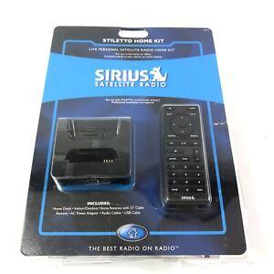 Sirius Satellite Radio Stiletto Home Kit Home Dock Antenna Remote USB