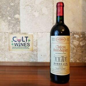1998 Chateau Saint Sulpice Bordeaux wine, France