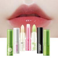 Strawberry Temperature Change Color Lip Balm Moisturizer Nutritious Lipstick~