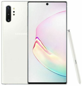 Samsung Galaxy Note 10+ Plus N975U 256GB Aura White Unlocked Smartphone Grade A+
