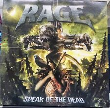 Rage Speak of the Dead double LP Limited Numbered Power Metal