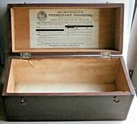 HUMPHREY'S VETERINARY REMEDIES Medicine Box from the early 1900's or earlier
