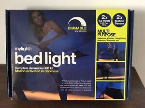 Mylight Bedlight Complete Dimmable Led Kit Motion Activated New In Box Multi