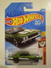 HOT WHEELS 2018 Muscle Mania *'69 DODGE CHARGER 500* metallic lime green