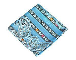 Lord R Colton Masterworks Pocket Square - Sannibel Topaze Stripe Silk - New