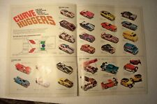 Vintage 1970's Tyco Pro Racing Parts Accessories Sale Brochure Catalog Slot Cars
