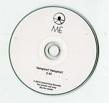 ME the band - cd-PROMO - VAMPIRE!! VAMPIRE!! © 2013 - EU-1-Track - indie rock