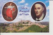 CARTOLINA - SALUTI DA MONSAMPOLO DEL TRONTO MARIA SS. ASSUNTA - NON SPEDITA