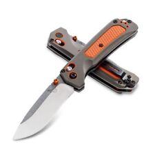 BENCHMADE 15061 GRIZZLY RIDGE AXIS LOCK CPM-S30V PLAIN EDGE FOLDING KNIFE